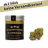Champions Blüten 2g in eleganter Aludose für Unterwegs | Sorte ROCY mit wundervollem Aroma