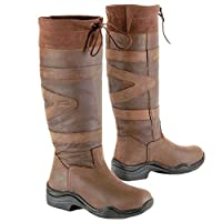 Toggi Canyon Long Country Boots Chocolate size 39 Wide