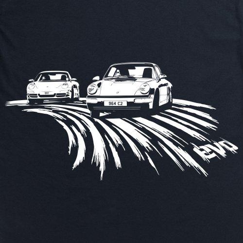 evo 964 Sports Car T-Shirt, Herren Schwarz
