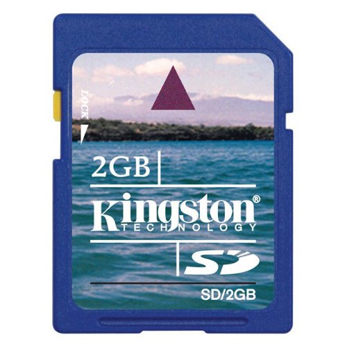 Kingston Technology Kingston SD Card 2GB (Wii-sd Karte 2gb)