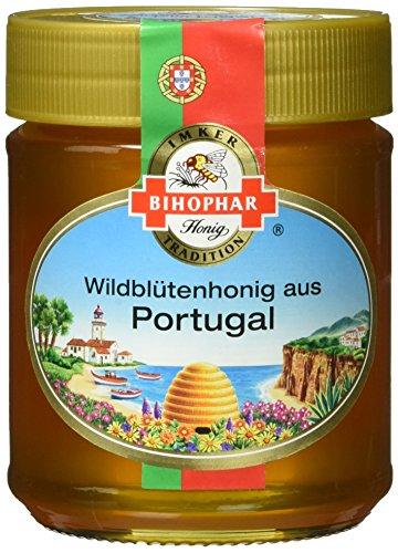 Bihophar Wild- blütenhonig Portugal, 2er Pack (2 x 500 g)