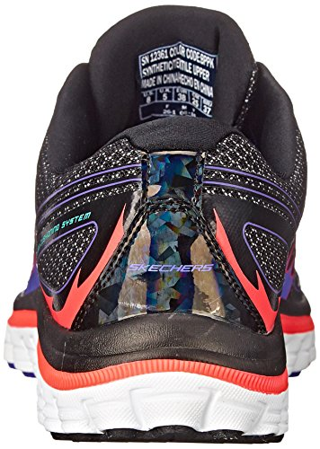 Skechers Sport Ascent Fashion Sneaker Black/Pink