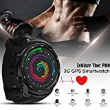 Lifesongs New zeblaze Thor Pro 3G GPS Smart Watch mit Kamera 3,9cm Android 5.1mtk65801.0GHz 1GB + 16GB Smart Watch BT 4.0Tragbar Geräte