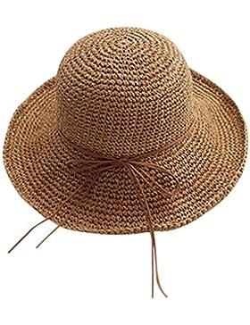 TININNA Donne Moda Estate eleganti Pieghevole Floscio Cappello da Sole Cappello della Spiaggia Cappello della...