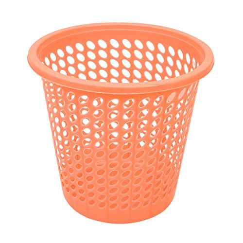 Kein Müll kann das Wohnzimmer Küche Badezimmer Schlafzimmer ausgesetzt Haushalt Latrinen mit Druck, Kleine und Große, ohne Hochdruckreiniger - Orange Abdeckung