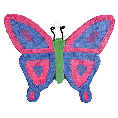Amscan 9903141 Pinata Schmetterling Spielzeug, Mehrfarbig