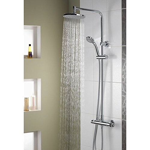 Aqualisa Midas Plus Thermostatic Bar Mixer Shower With Diverter (HP/Combi)
