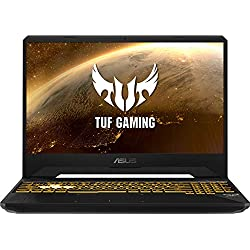 "ASUS TUF Gaming FX505DD-BQ067 - Ordenador portátil de 15.6"" (AMD Ryzen 7 3750H APU, 8 GB RAM, 512 GB SSD, NVIDIA GeForce GTX1050, sin Sistema operativo) Negro - Teclado QWERTY Español"