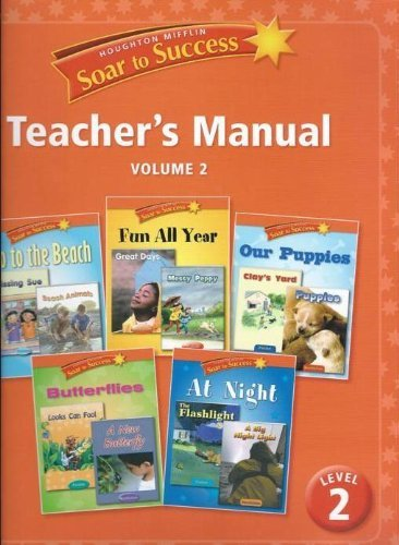 Houghton Mifflin Soar to Success Teacher's Manual Level 2 (Volume 2) by David Chard (2008-08-01)