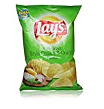 #3: Lays Potato Chips - American Style Cream and Onion Flavour Party Pack,  25g Pouch