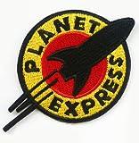 FUTURAMA Planet Express-Logo Aufnäher/Aufbügler