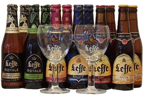 leffe-biergeschenke-mit-2-leffe-glas-bierpaket-leffe-bier-probierpaket-12-x-033l-2-glas