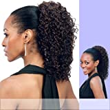 PD-27 (Motown Tress) - Synthetic Ponytail In 1B By Motown Tress