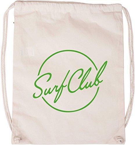EZYshirt® Surfclub Baumwoll Stoffbeutel - Volcom Handtuch
