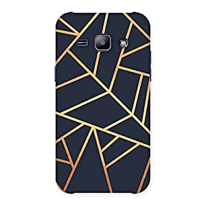 Neo World Golden pattern Back Case Cover for Samsung Galaxy J1