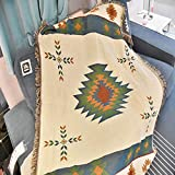 LLXYM Vintage American Sofa Decke Tapisserie Sofa Handtuch Wohnzimmer Dekoration Größe (Stan 125X150cm),1,125 * 150Cm