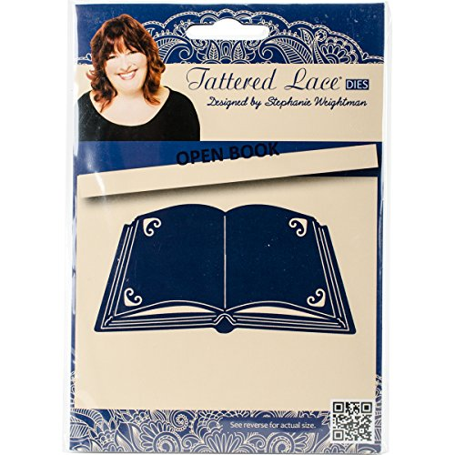 Best Price Tattered Lace Metal Die Open Book on Line