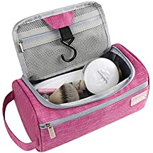 Eono Essentials Hanging Travel Toiletry Bag Overnight Wash Gym Shaving Bag for Men and Women