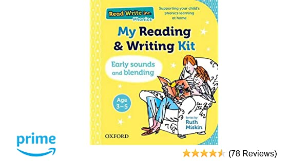 Read Write Inc : My Reading and Writing Kit: Early sounds