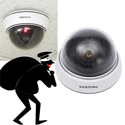 Home & Office Security Fake 2 pcs CCTV Ball Dummy Camera