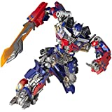 SCI-FI Revoltech Transformers oscuro de la luna Optimus Prime no escala de ABS y PVC pintado de figuras de accioen legado de Revoltech