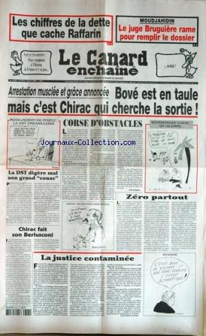 CANARD ENCHAINE [No 4313] du 25/06/2003 - LES CHIF...