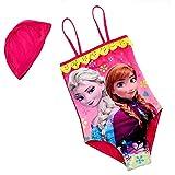 Inception Pro Infinite Größe 14-6-7 Jahre - Badeanzüge - ELSA & Anna - Für Mädchen geeignet - Farbe Fuxia - Einteilig mit Mütze