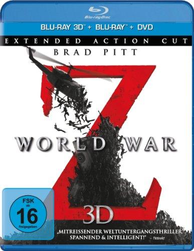 Bild von World War Z  - Extended Action Cut  (+ BR) (+ DVD) [3D Blu-ray]