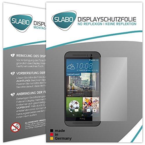 Slabo 4 x Bildschirmschutzfolie HTC One (M9) Bildschirmschutz Schutzfolie Folie No Reflexion|Keine Reflektion MATT - Entspiegelnd Made IN Germany