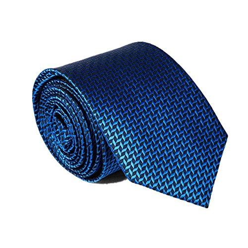 Z-P Mens Luxury Fashion Necktie Blue Jacquard,Pocket Square,Cufflinks Business Silk Tie Set Coral Bowtie-jungs
