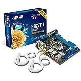 Asus P8Z77-I Deluxe Mainboard Sockel 1155 (Intel Z77, 2x DDR3 Speicher, PCI-e, ATX, 4x USB 2.0)