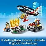 LEGO-City-Fire-Elicottero-dei-Pompieri-Set-di-Costruzioni-con-Minifigure-Operaio-Pompiere-Freya-Mccloud-con-Accessori-per-Bambini-5-Anni-60248