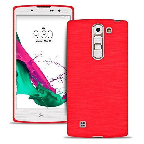 Silverback LG G4C Hülle - Handyhülle Aus Silikon - Kratzfeste Und Stoßfeste Schutzhülle - TPU Handy Case Bumper Backcover - Rot Metallic