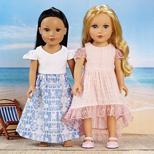 SIMPLICITY - Cartamodello S8903 per vestiti da bambola, carta bianca, vari