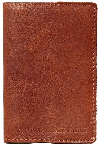 LE CARNET Größe S Mit Recyclingpapier Lederbuch in 100 Seiten Vintage-Stil PAUL MARIUS