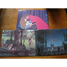 3 hand made money gift unique envelopes/wallet made from a Disney book Sleeping Beauty