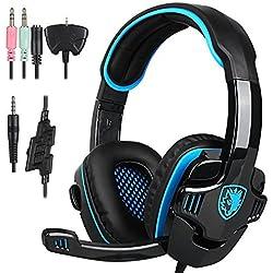 51B53v6HegL. AC UL250 SR250,250  - Sades SA 708 Stereo PC Gaming Headset in offerta lampo per la Amazon Gaming Week 2016