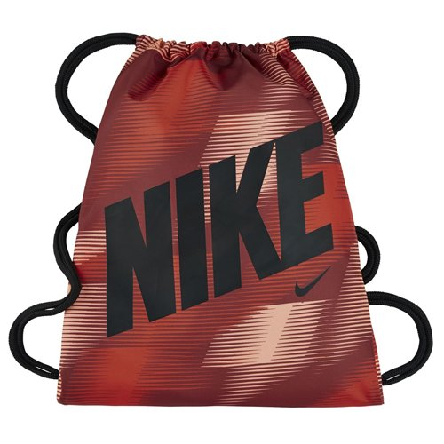 Nike und NK gmsk-gfx Saiten Tasche, Unisex Kinder Dunkel Paprika Rot/Schwarz