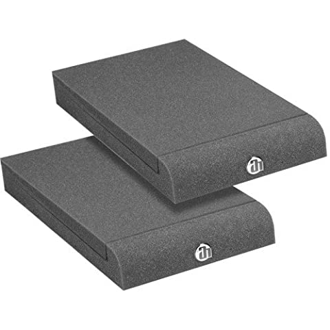 Adam Hall Stands PAD ECO Series SPADECO1 Absorber Plate for Studio Monitors Anthracite