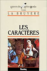 LABRUYERE/ULB CARACTERES    (Ancienne Edition)
