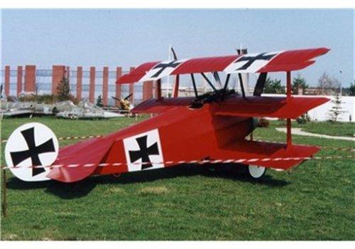 Revell Modellbausatz Flugzeug 1:72 - Fokker Dr.1 Triplane im Maßstab 1:72, Level 4,