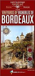 Carte touristique : Vignobles de Bordeaux (édition bilingue français/anglais)