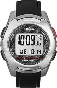 Timex - Montre Sport de Surveillance Cardiaque - Contact Touch - INDIGLO Homme - T5K470HE