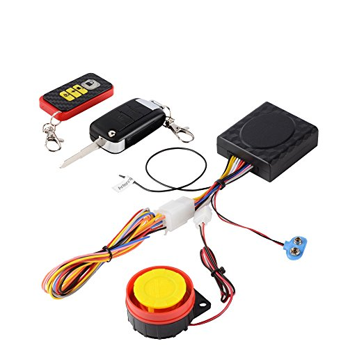 TR Turn Raise Sistema de Alarma Anti-Robo Alarma del Moto con Control Remoto Sirena 125dB para Suzuki, Yamaha, Honda, Kawasaki