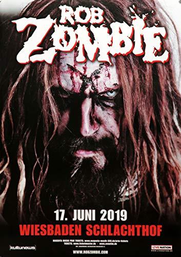 t | DIN A1 | Live Konzert Veranstaltung » Rob Zombie - The Electric Warlock, Wiesbaden 2019 « ()