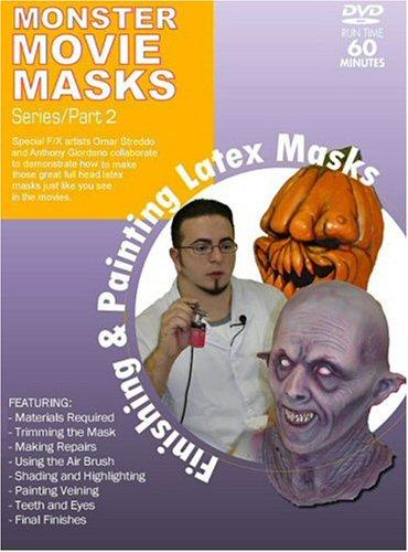 Monster Movie Masks - Finishing & Painting Latex Masks