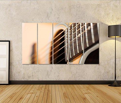 Imagen de cuadro cuadros  acústica clásica con extraña e inusual perspectiva primer plano. instrumentos musicales impresión sobre lienzo  formato grande  cuadros modernos ett alternativa