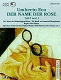Der Name der Rose, Cassetten, Tl.3/4, Der Sturz des Himmelsgewölbes
