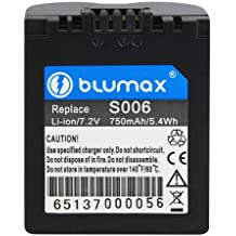 Blumax 65137 Lithium-Ion 750mAh 7.2V rechargeable battery - Rechargeable Batteries (750 mAh, 5.4 Wh, Lithium-Ion (Li-Ion), 7.2 V, Black, 1 pc(s))
