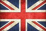 Großbritannien Great Britain Fahne Flagge Flag Blechschild Schild Blech Metall Metal Tin Sign 20 x 30 cm